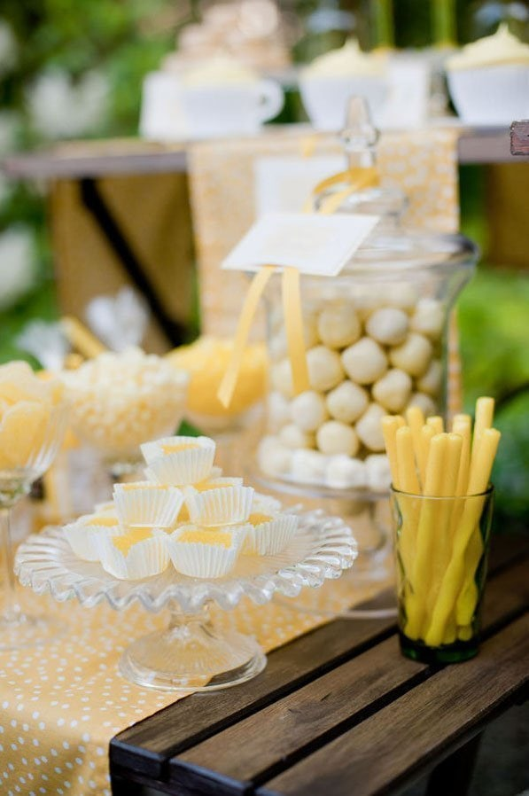 Lemon Dessert Table03