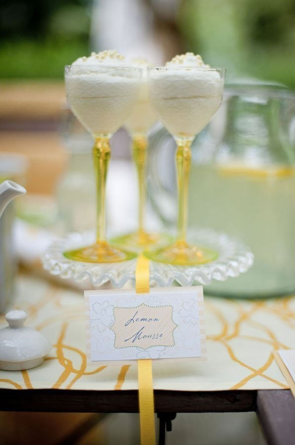 Lemon Dessert Table05