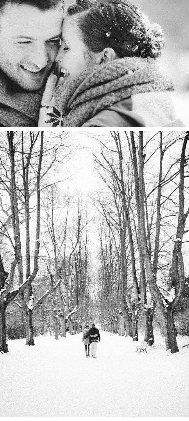 melanie1-engagement im schnee