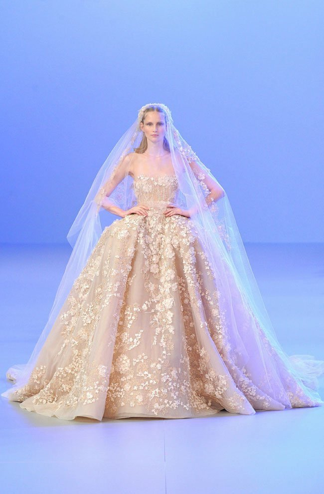 elie saab-2014-6-Hochzeitsmode Bridal Dress