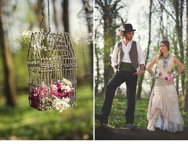 gipsy wedding boho style 0002