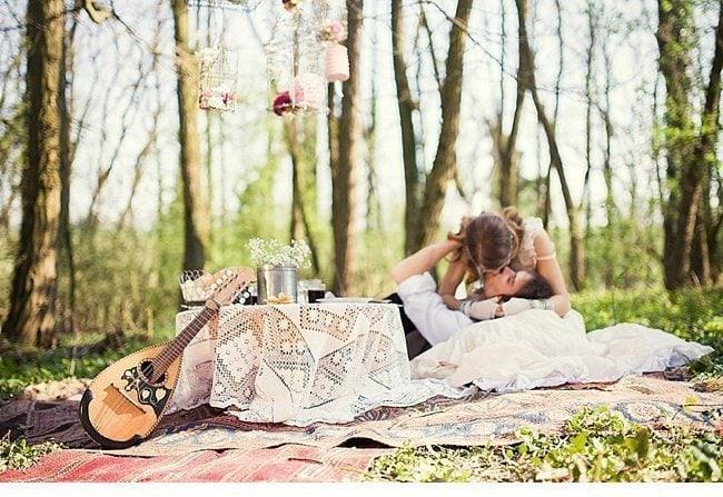 gipsy wedding boho style 0015