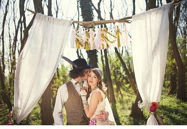 gipsy wedding boho style 0028