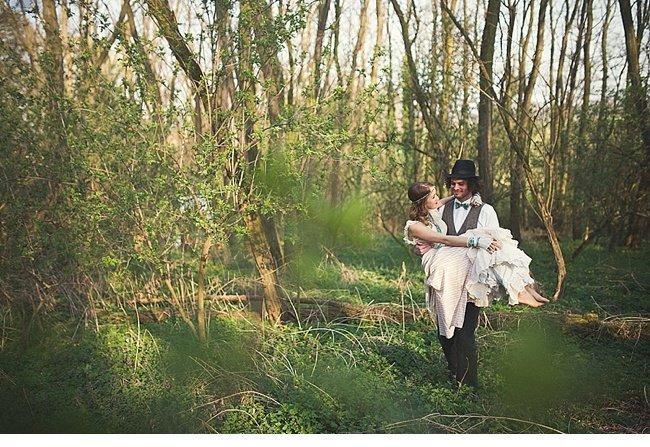gipsy wedding boho style 0034
