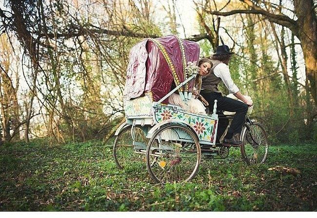 gipsy wedding boho style 0039