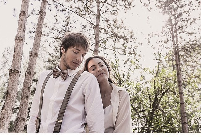 mediterranean forest wedding shoot 0000