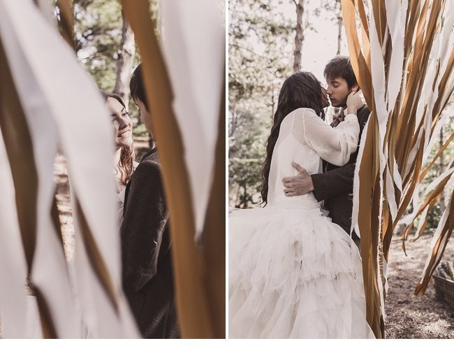 mediterranean forest wedding shoot 0028