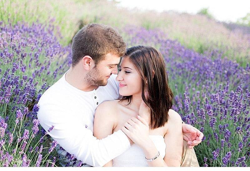 Cansu Onur engagement Lavendelfeld 0005