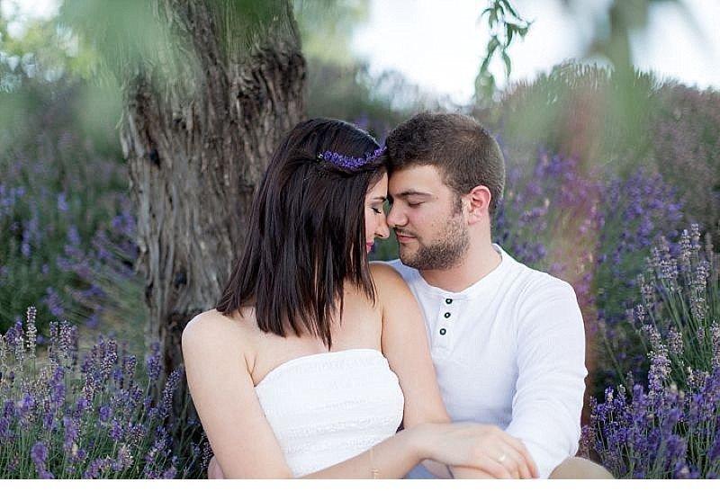 Cansu Onur engagement Lavendelfeld 0010
