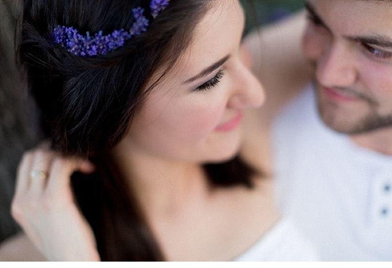 Cansu Onur engagement Lavendelfeld 0019