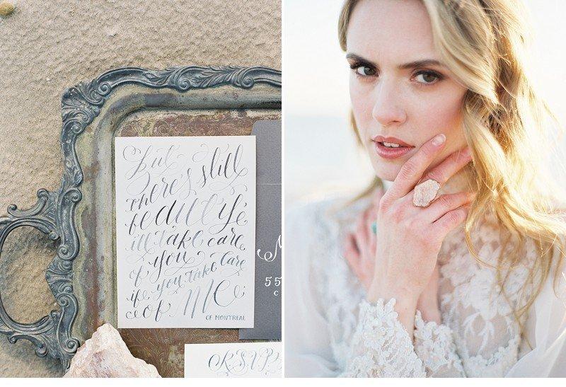 sea sand bridal wedding inspiration 0003a