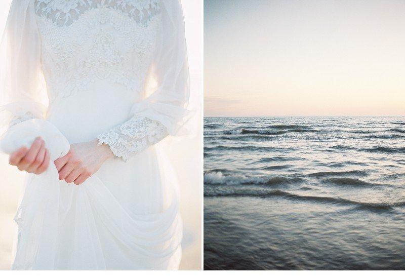 sea sand bridal wedding inspiration 0024