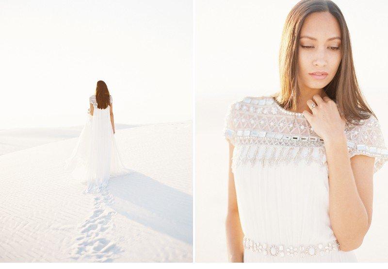 white sands bridal desert shoot 0004