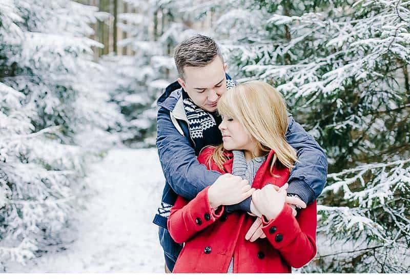engagement im schnee 0012