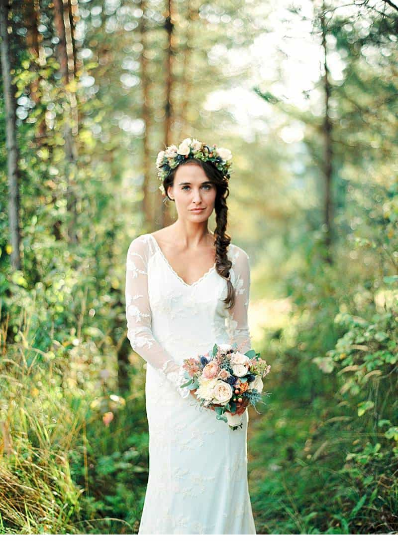 natural bridal shoot carinthia 0014