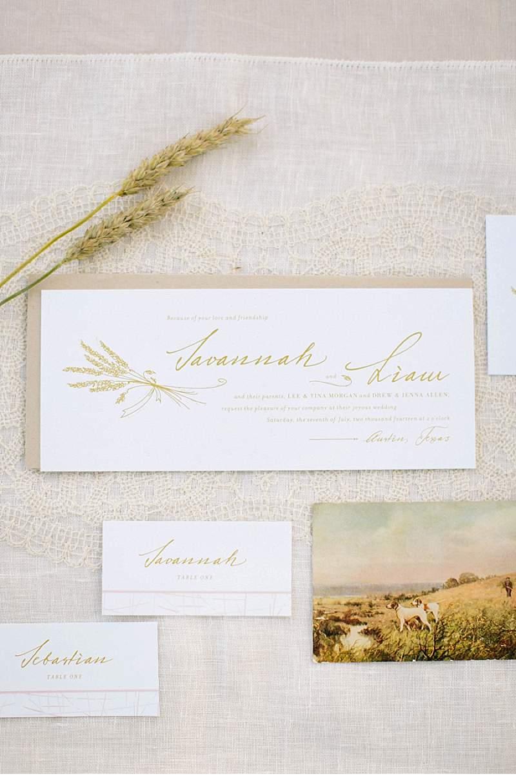 Golden Grasses; Styled Shoot